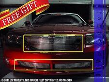 GTG 2004 - 2008 Chrysler Crossfire 3PC Polished Combo Billet Grille Grill Kit
