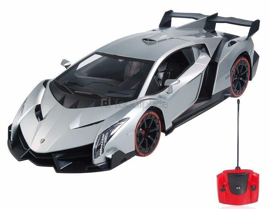 1/14 Lamborghini Veneno LP750-4 Radio Control Sport Car R/C RTR  w/Battery grigio