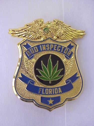 FLORIDA BUD INSPECTOR 2 3//4 inch MARIJUANA GRATEFUL DEAD RELIX L.E PIN PIN