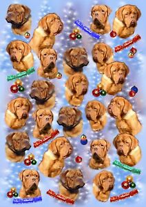 Dogue-de-Bordeaux-Dog-Christmas-Gift-Wrapping-Paper-by-Starprint