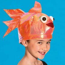 Orange Goldfish Hat - Animal Fancy Dress - Under The Sea Dance Costume