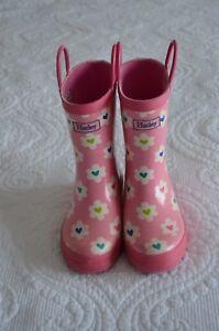 Hatley Rainboots Flower Heart Garden Girls Rain Boots