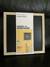 Room Essentials 12x 12 Letterboard Includes 181 Changeable Letters New Board