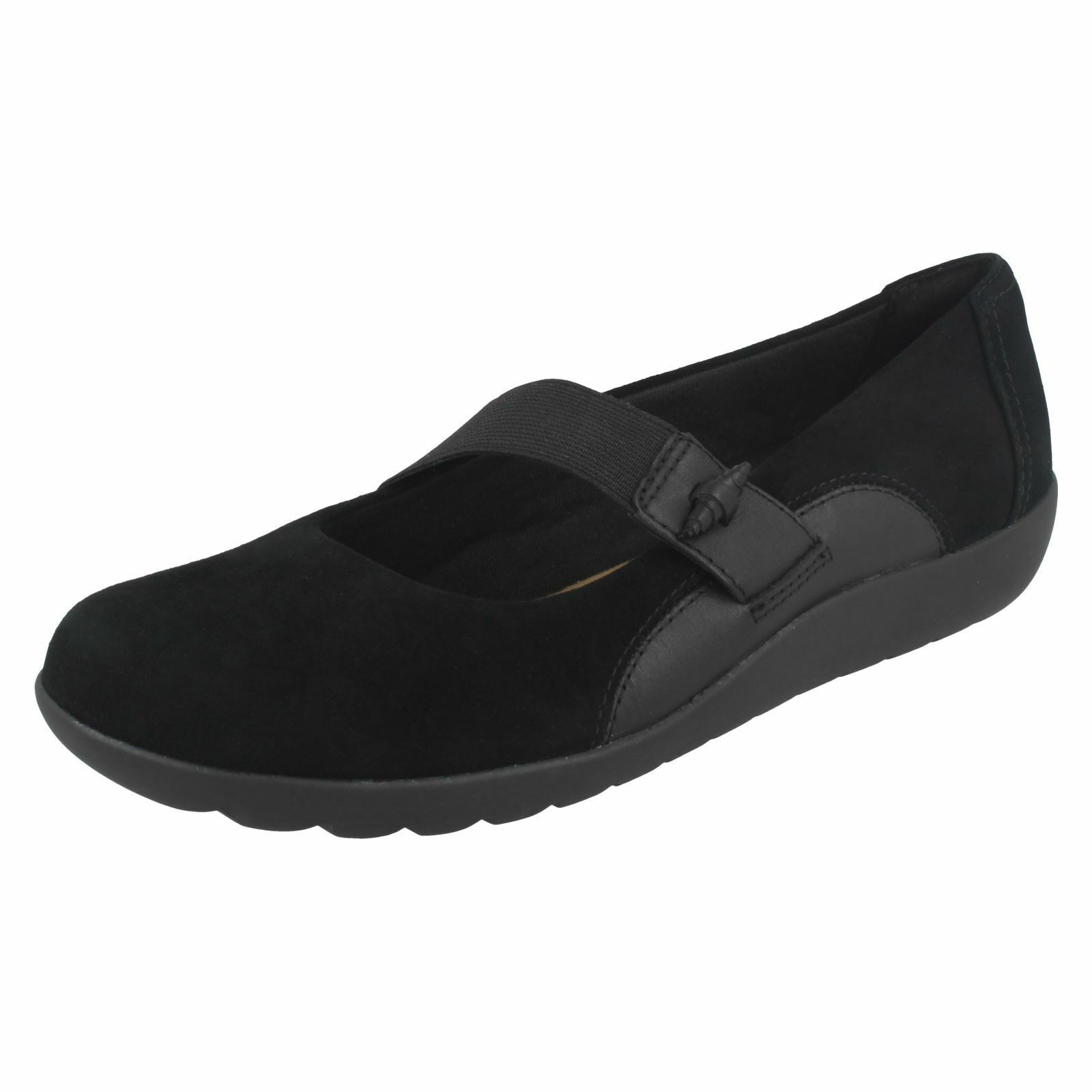 Clarks Femmes Élastique Sangle Chaussures  Medora FROST