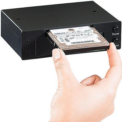 """Xystec Interne HDD-Docking-Station für 2,5 & 3,5"""" SATA-HDDs"""