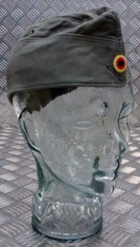Genuine German Army Bundeswehr Moleskin Forage Hat Green Size 56cm x 10 Hats
