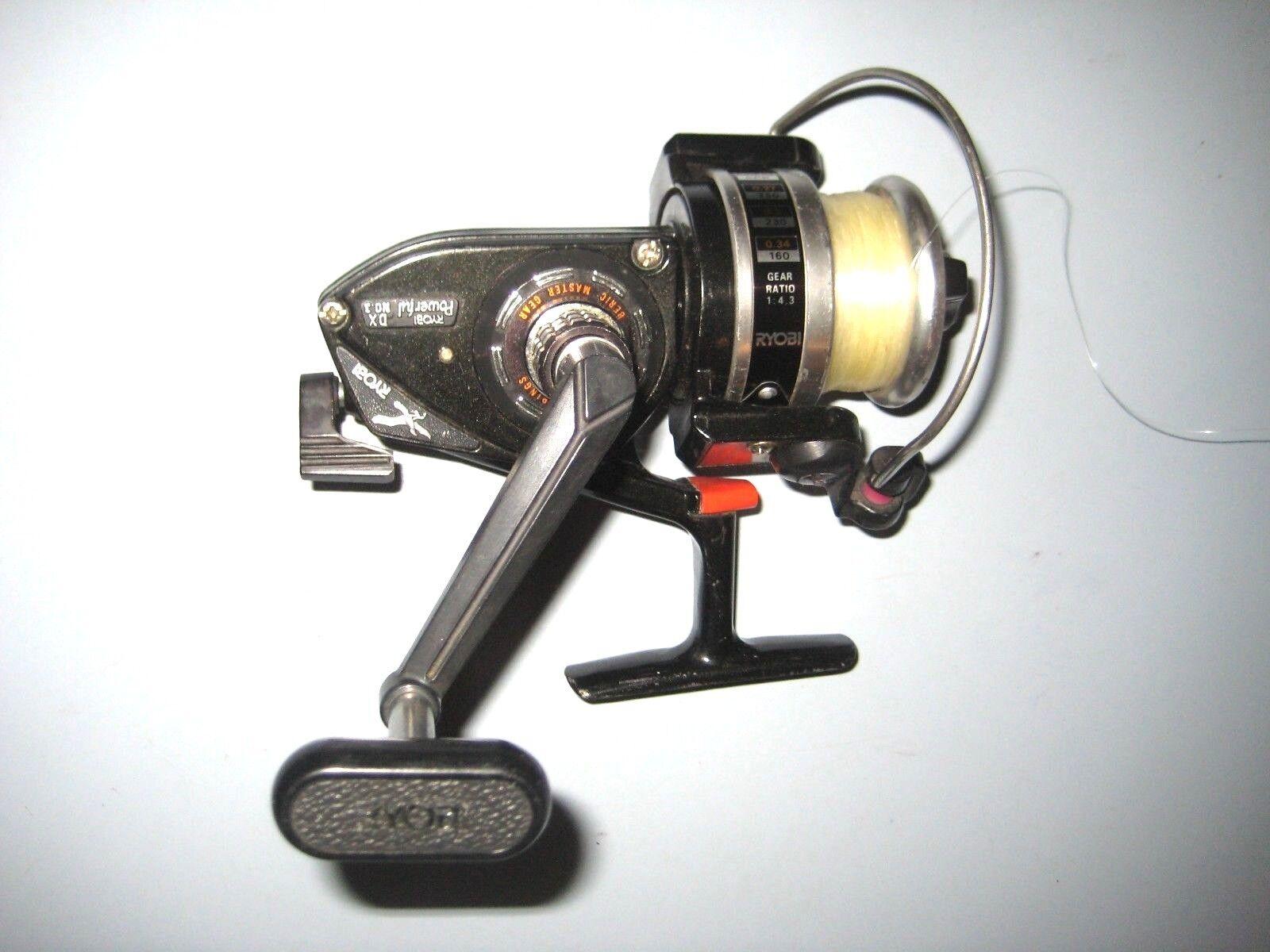 POWERFUL RYOBI DX 3  Open Face FISHING REEL No. 3