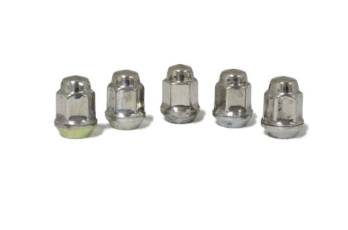 Set of 5 Stainless Steel Coated Lug Nuts for Jeep Wrangler Cherokee Grand ZJ WJ
