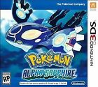 Pokemon: Alpha Sapphire (Nintendo 3DS, 2014)