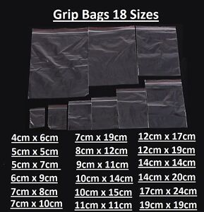 Small-Clear-Plastic-Poly-Grip-Self-Seal-Resealable-Zip-Lock-Mini-Bags-Jewellery