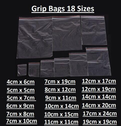 Grip Borse piccole Poly Plastica Trasparente Richiudibili Zip Lock sacchetti per mini gioielli