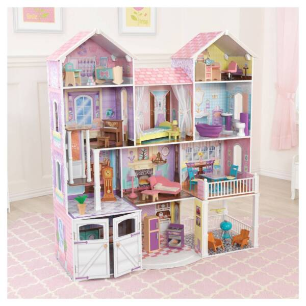 Kidkraft Wooden Dollhouse Country Estate Dolls House Plus