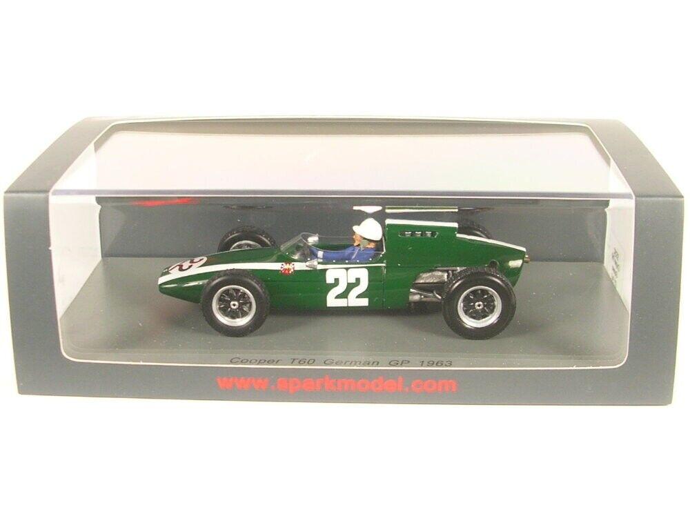 Cooper T60 No. 22 German Gp Formula 1 1963 (Mario de Araujo Cabral)
