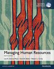 Managing Human Resources, Global Edition by Luis R. Gomez-Mejia, Robert L. Cardy, David B. Balkin (Paperback, 2015)