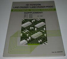Werkstatthandbuch Elektrik Toyota Land Cruiser VZJ90 KZJ90 RZJ90 LJ90 Ergänzung!
