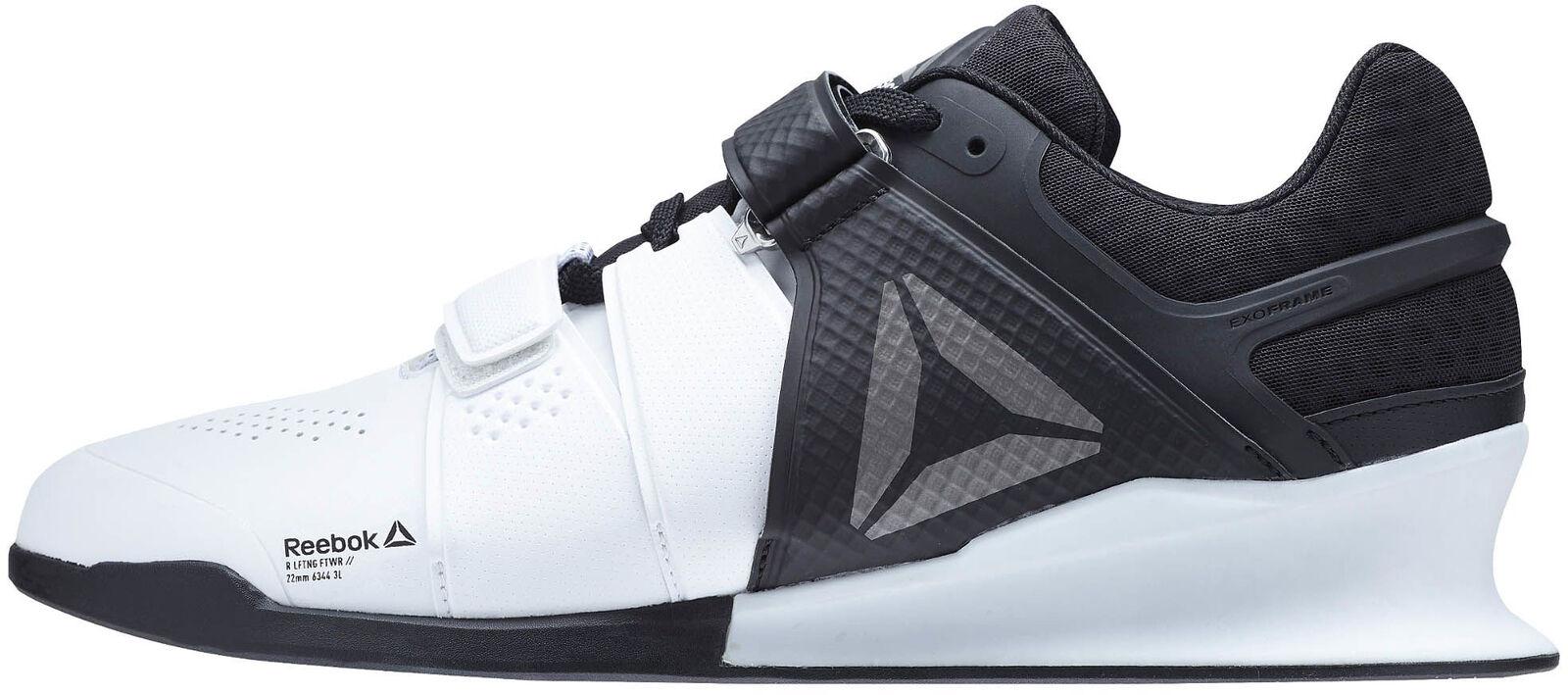Reebok Para Hombre Zapatos de Halterofilia levantador herojoados botas culturismo gimnasio Crossfit