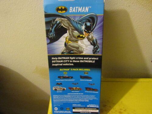 © 2016 Hot Wheels Batman 5 PACK Die Cast w// Original 1966 TV Batmobile New NRFB