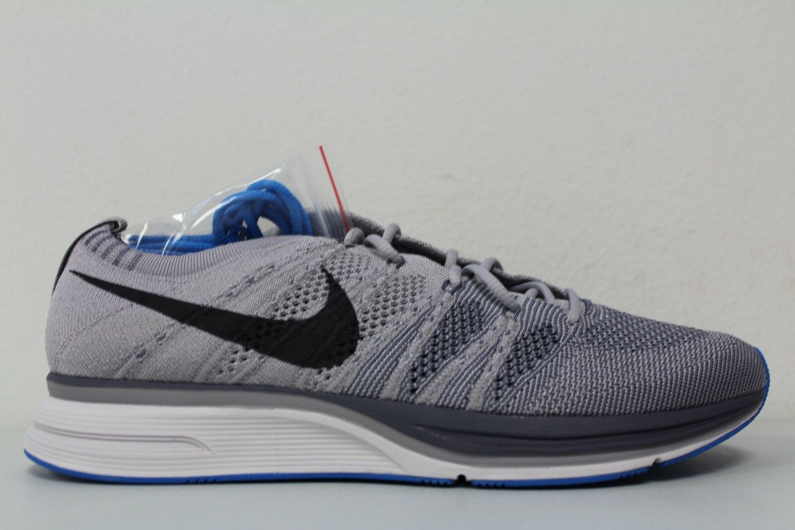 Men's Nike Flyknit Trainer Atmosphere Grey Thunder Grey AH8396-006 Size 8