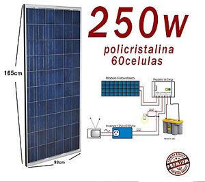 Solarmodul 12v 250w