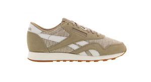 Cl Casual chalk Womens Reebok Nylon Bd5405 Canvas Trainers Wr UqnY6wx
