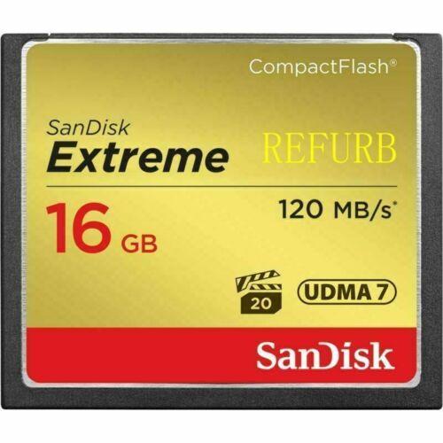 16GB 32GB 64GB tarjeta SanDisk Extreme Compact Flash Tarjeta de memoria CF Alta Velocidad