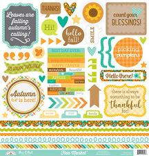 Doodlebug Design Flea Market Cardstock Stickers This and That 5358 2016