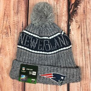 3e2db6541038e5 New England Patriots New Era 2018 NFL Sideline Cold Weather Official ...