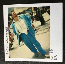 John Goodman Continuity Polaroid Wardrobe Original Photo Movie Prop Actor Film c