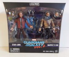 2017 Hasbro Marvel Legends Series Guardians of Galaxy 2 Star Lord & Ego Set