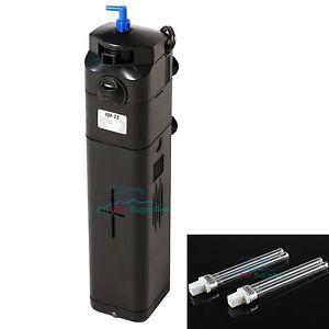 NEW-DESIGN-13W-UV-Sterilizer-Adjustable-Pump-150gal-Aquarium-replacement-bulb