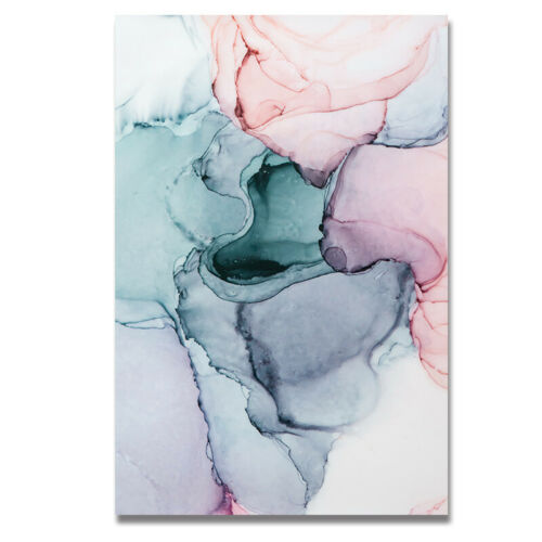 3x Abstract Color Canvas Painting Nordic Wall Art Poster Wall Picture Home Decor