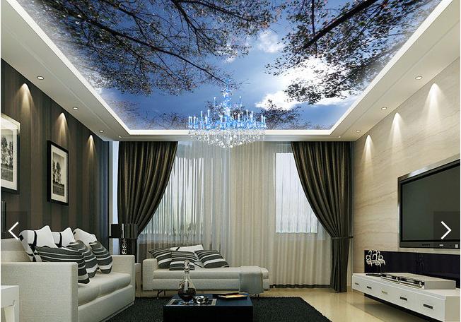 3D Tree 409 Ceiling WallPaper Murals Wall Print Decal Deco AJ WALLPAPER AU