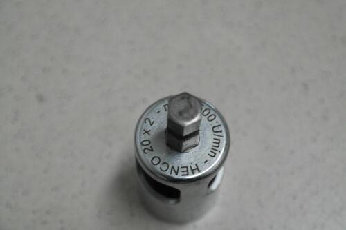 Henco Kalispeed Entgräter 20x2 Presszange Pressmaschine Pressbacke Th