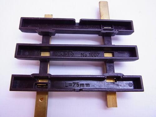 60801 LGB 1007 Gleis Schiene gerade 75mm//7,5cm Innenbetrieb guter Zustand Spur G