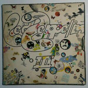 Led-Zeppelin-III-3-SD-7201-Vinyl-LP-Record-Album-Pinwheel