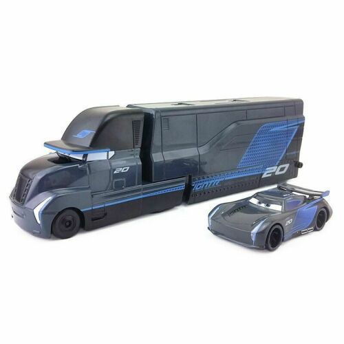 Pixar Movie Cars 3 Diecast Jackson Storm With Truck 1:55 Loose Toy Car Gift