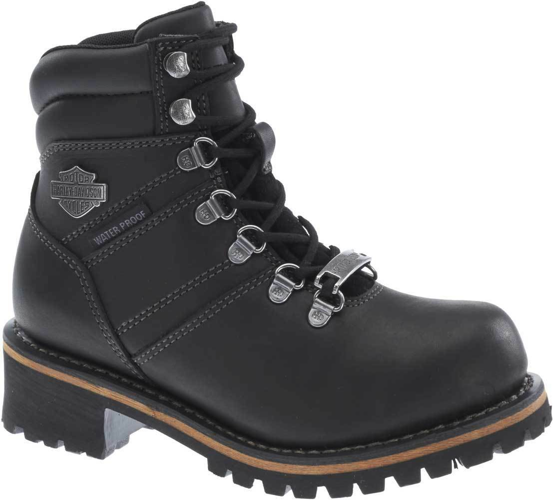 Harley-Davidson Women's Ladson Waterproof Performance Motorcycle Boots D87103