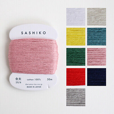 Sashiko 100/%Cotton Rose Red Thread~22 Yards~Sewing~Quilting~Embroidery~ #12