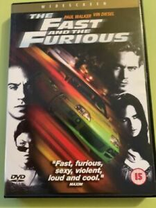 THE-FAST-AND-THE-FURIOUS-DVD-As-New-amp-Sealed-Ja-Rule-Vin-Diesel-Michelle-Rodri