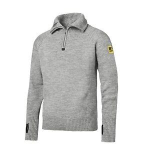 d54046ec2 Snickers 1 2 Zip Pure Wool Sweater - 2905