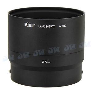 Kiwi 72mm Filter Thread Lens Adapter Tube For Fujifilm