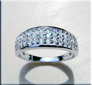 Brillantring-Diamanten-Ringe-14-Karat-585er-Weissgold-0-50-Karat-Top-Wesselton