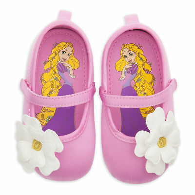 NWT Disney Store Rapunzel Baby Costume Shoes 0 6 12 18 24 M