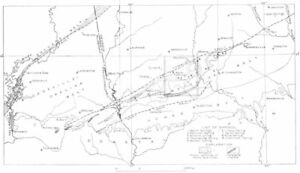 USA.Geological.West-central Georgia,east-Alabama,warm springs Quad ...