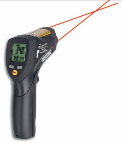 Infrarot IR Thermometer bis 800°C Temperatur Messgerät TFA Dostmann Scantemp 485