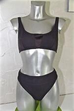 swimsuit maillot de bain foncé ERES latex/pactole T 44/46 US 14 NEUF Val 350€