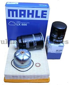 LAND-ROVER-DISCOVERY-2-amp-DEFENDER-TD5-SERVICE-KIT-MAHLE-OIL-amp-AIR-FILTERS-OEM