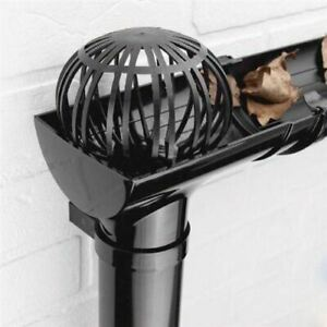 2x-Gutter-Downpipe-Balloon-Guard-Blockage-Filters-Stops-Leaves-Debris-Down-Pipe