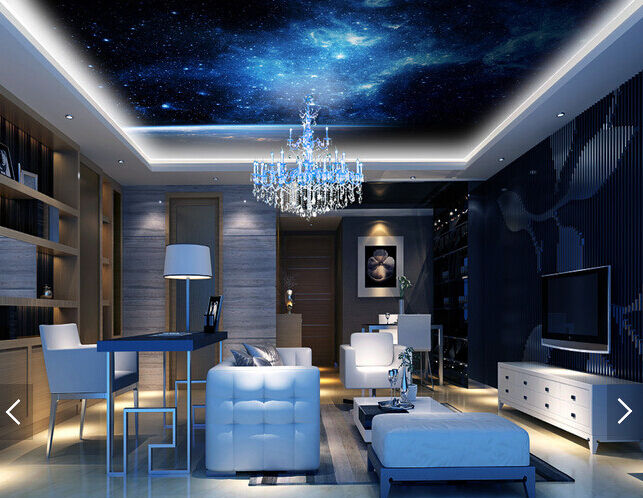 3D Horizon Star 8 Ceiling WallPaper Murals Wall Print Decal Deco AJ WALLPAPER GB