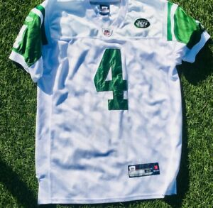 newest collection b575d acd9b Details about Vintage New York Jets Brett Favre NFL Reebok Authentic Jersey  Size 48
